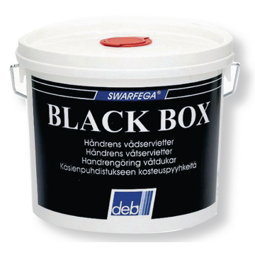 Black Box renseservietter 150 stk